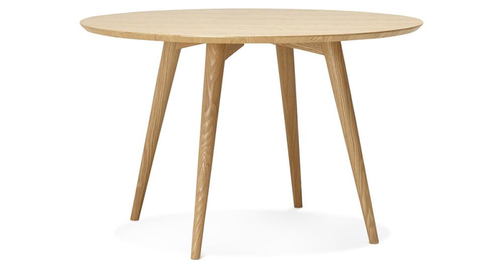 Table ronde diamètre 120 cm Swedin