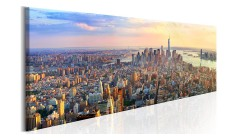 Tableau New York Panorama - 3 coloris - 150 x 50 cm