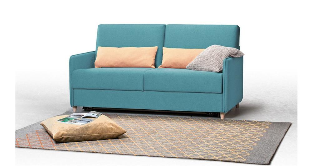 Canapé lit couchage journalier peu encombrant Zero