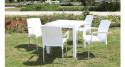 Lot 30 fauteuils jardin Carolina
