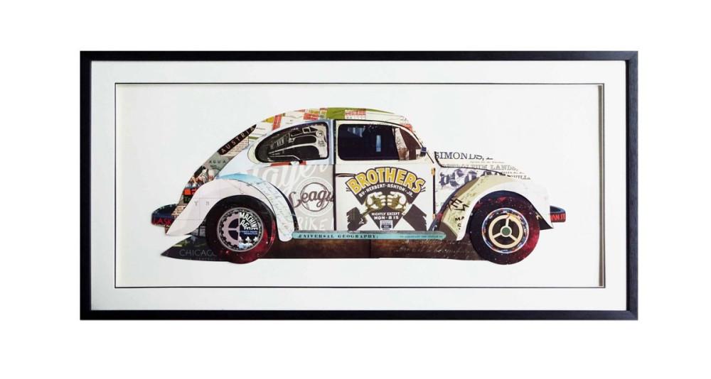Tableau Cox Volkswagen - 65 x 130 cm