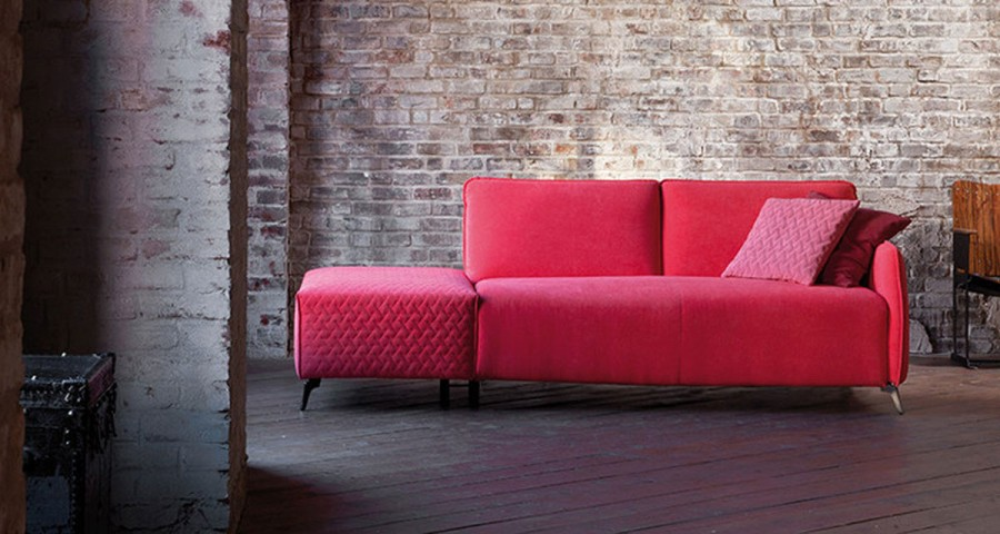 Sofa méridienne Olympie fixe ou convertible