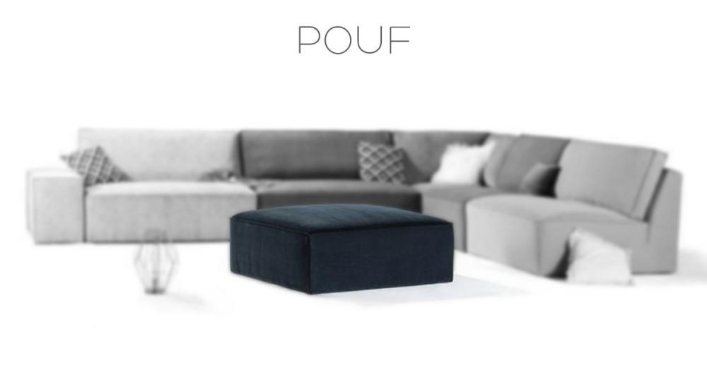 Pouf XL Pacific Home Spirit
