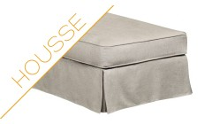 Déstockage housse pouf Harry XL Home Spirit