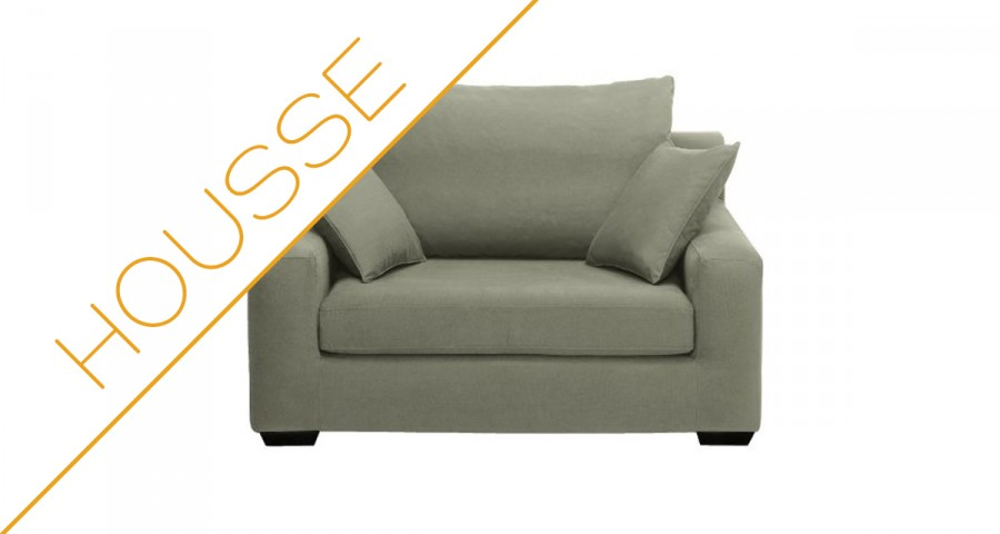 Déstockage housse fauteuil Manhattan XL Home Spirit