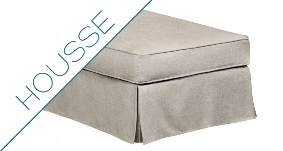 Housse pouf Harry Home Spirit