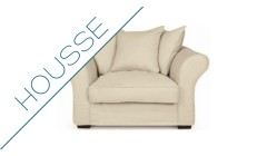 Housse fauteuil Perth Home Spirit