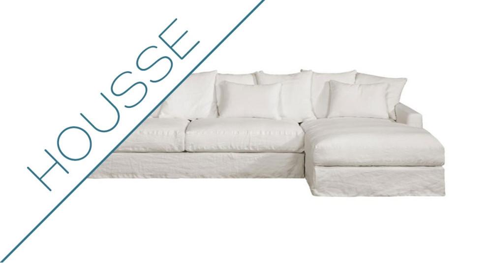 Housse canapé d'angle Bohème Home Spirit