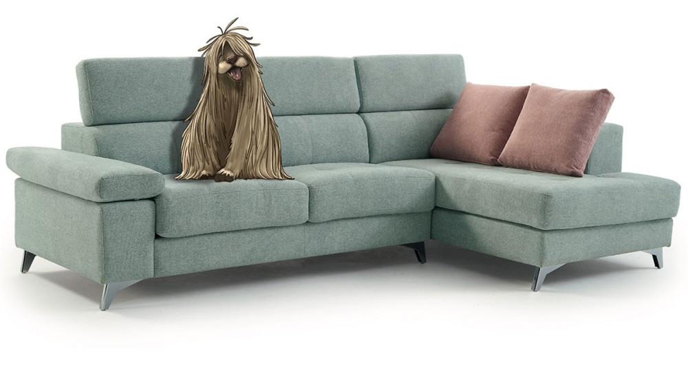 Canapé d'angle à assises coulissantes Adelice