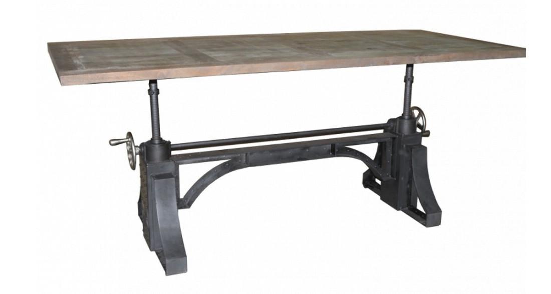 Table industrielle à hauteur réglable Westhill
