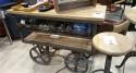 Console industrielle à roues métal Kiltarlity