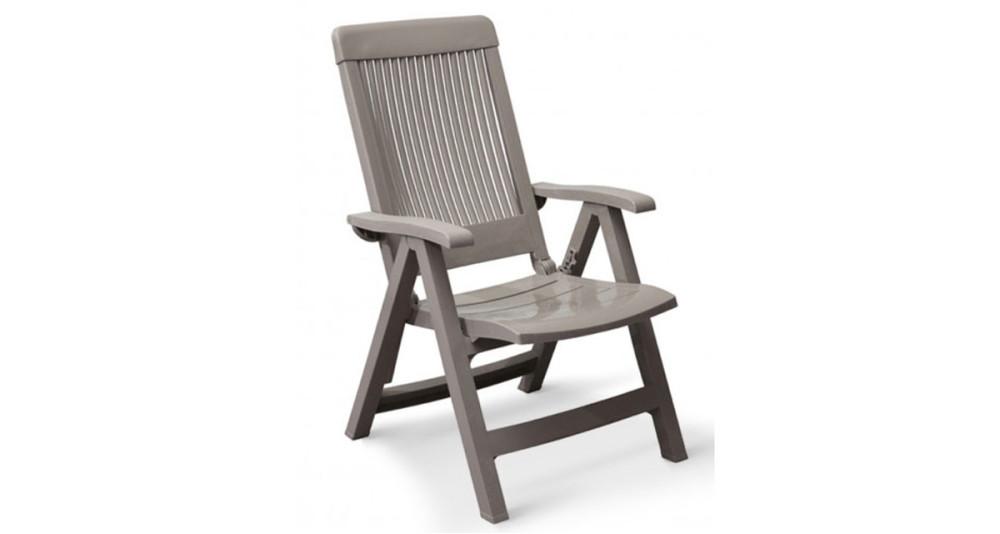 Lot 18 fauteuils à dossier réglable Fidji - 4 coloris