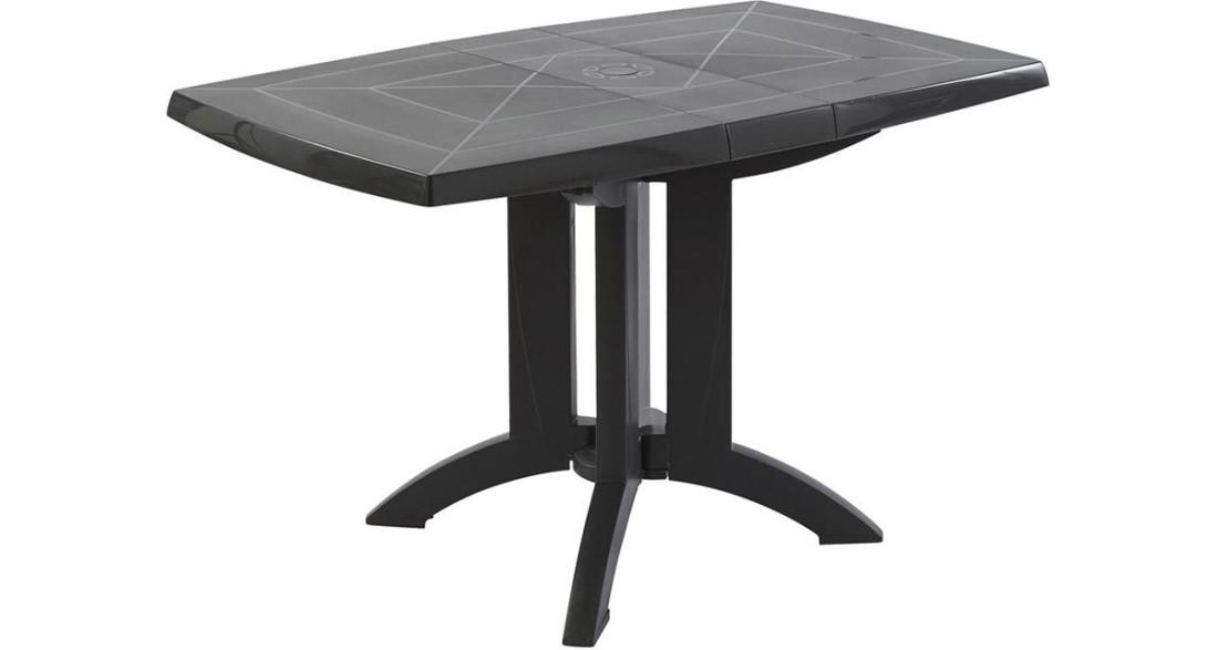 Lot 12 tables Vega 118 cm plateaux pliants pied rabattable ...