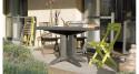 12 x Table Vega 118 cm pliante - 5 coloris