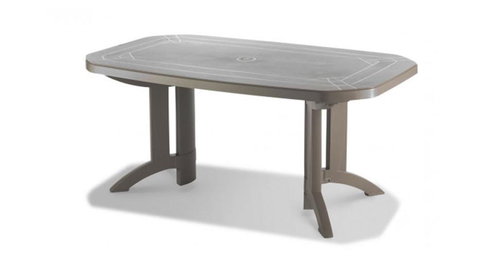 6 x Table Vega 165 rabattable - 3 coloris