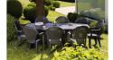 6 x Table Vega 165 ou 220 cm - 4 coloris