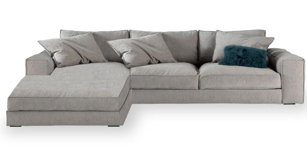 Canapé d'angle moelleux Plume Home Spirit