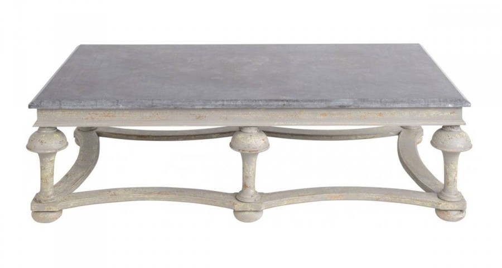 Table basse Duchesse pierre bleue