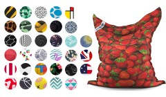 Pouf géant The Original Printed Jumbo Bag - 35 coloris