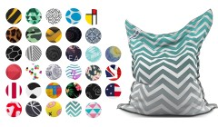 Housse pouf The Original Printed Jumbo Bag