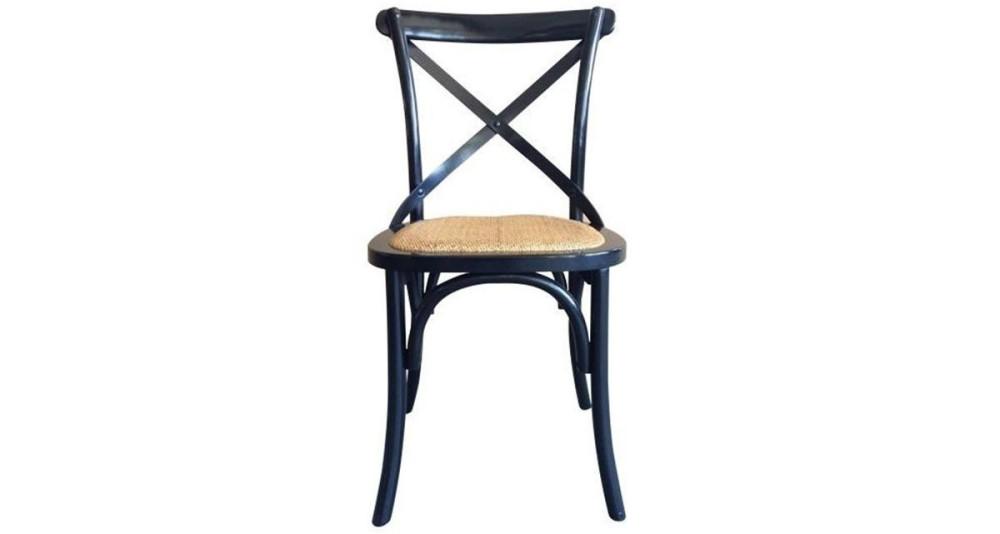 Chaise Troquet noire