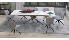 Table XL extensible en céramique Eloquence - 4 coloris
