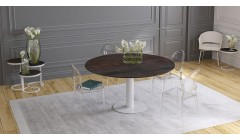 Table rectangulaire transformable en table ronde Onyx