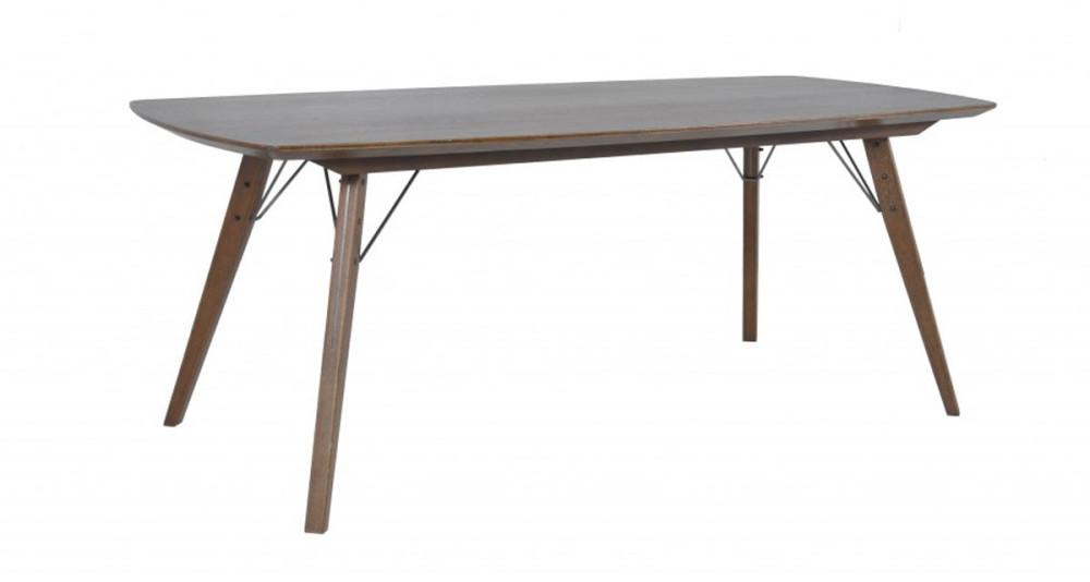 Table repas en chêne 200 x 90 cm Chantal