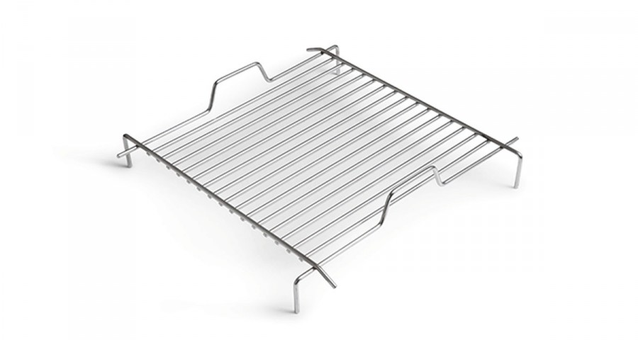 Grille en inox pour barbecue Cube