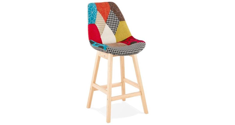 Chaise mi haute à patchwork Barcelona