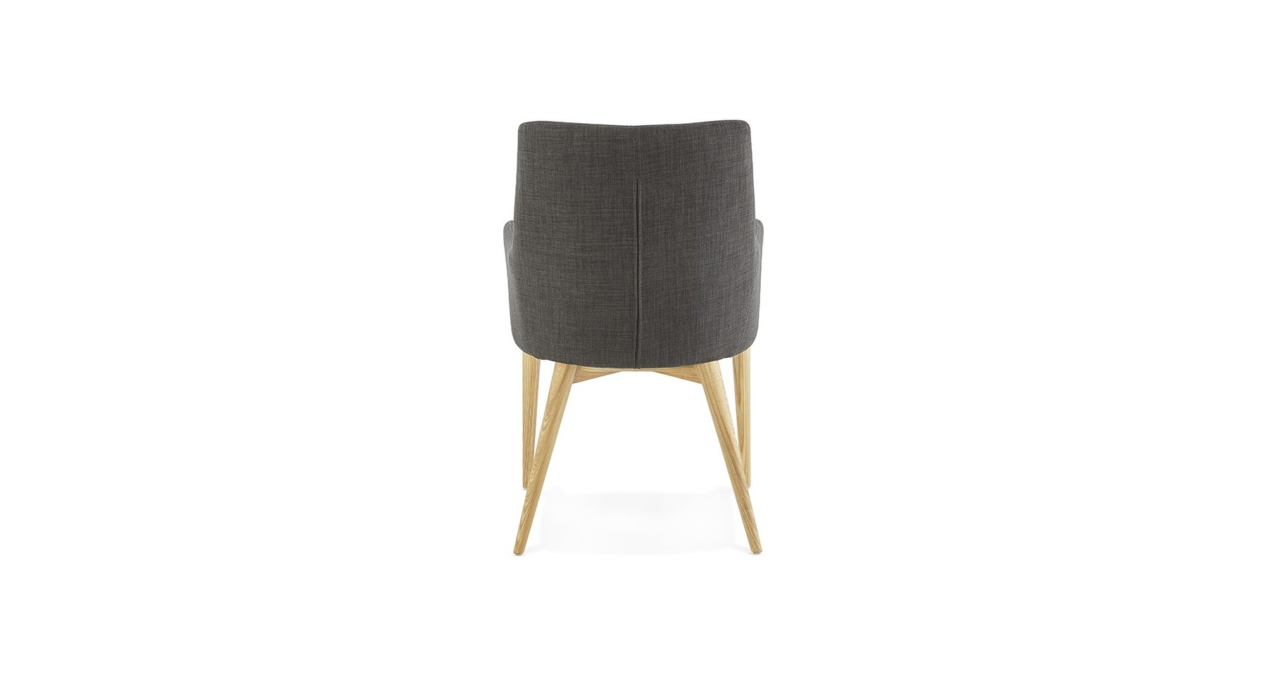 Chaise Scandinave Grise Geode