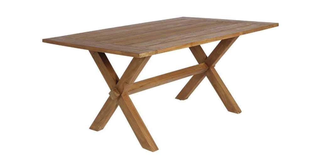 Table en teck Colonial