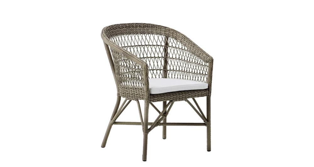 Chaise de repas de jardin Emma