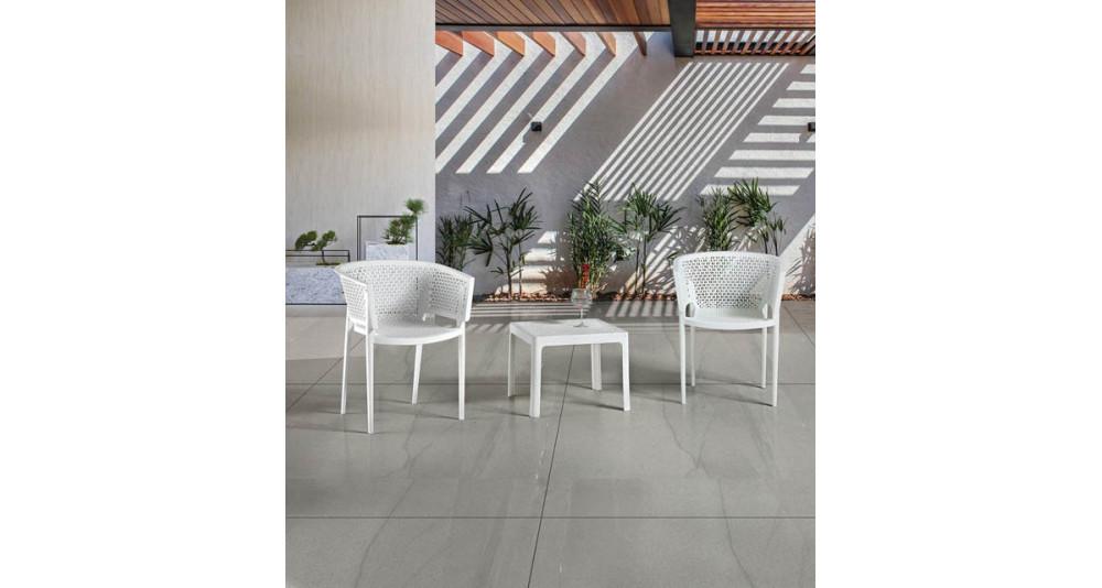 Lot 16 fauteuils jardin Genoveva