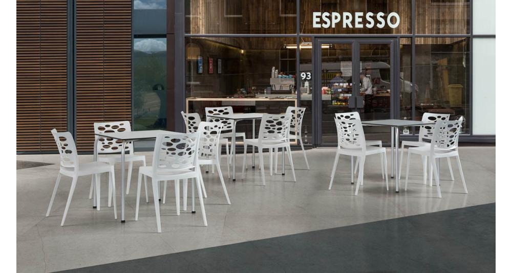 Lot 40 chaises jardin Valéria