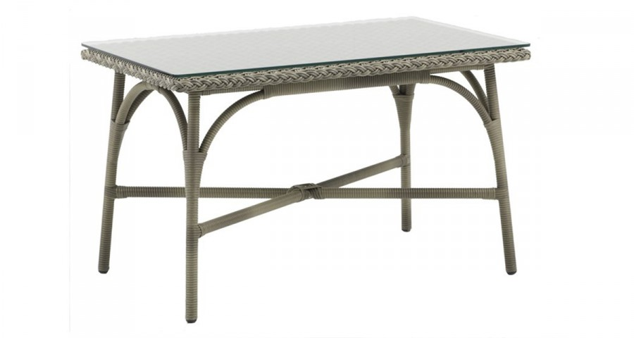 Table basse outdoor Victoria couleur taupe antique