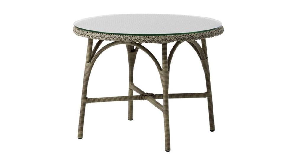 Table basse ronde jardin Victoria