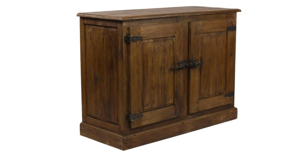 Bahut 2 portes en bois Ovando