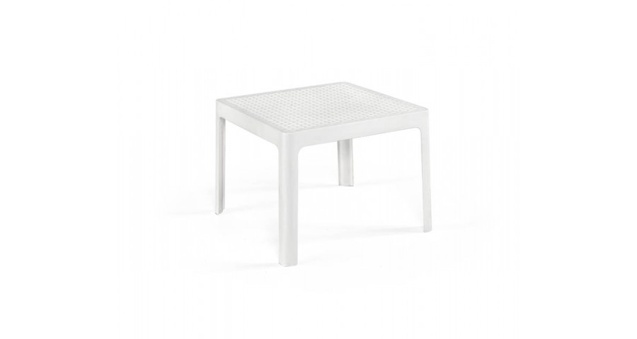 Lot 24 tables basses 50x50 cm Genoveva