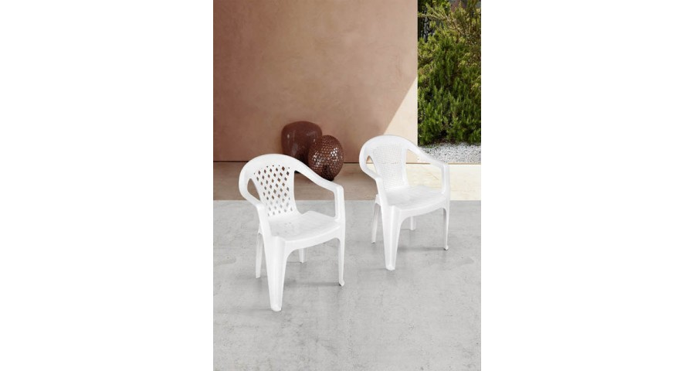 Lot 140 chaises jardin Solano