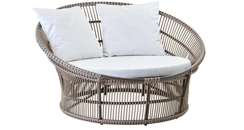 Canapé de jardin rond Olympia Nest