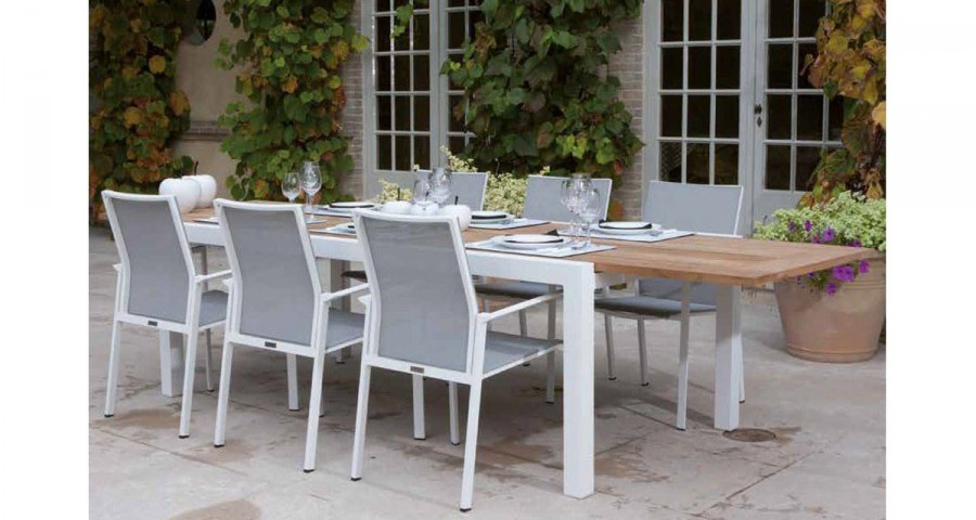 Table jardin extensible 14 personnes Callelongue