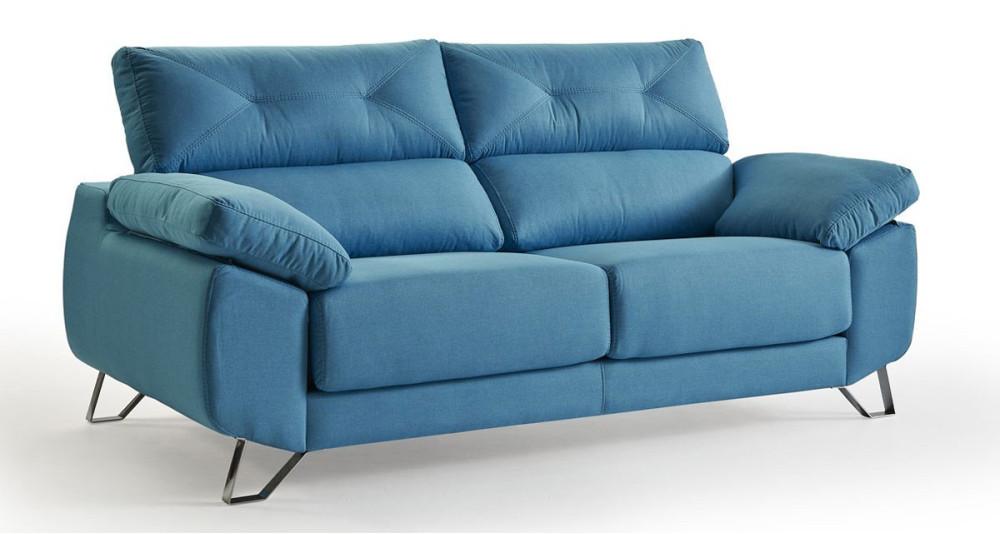 Canapé à assises coulissantes Chantal