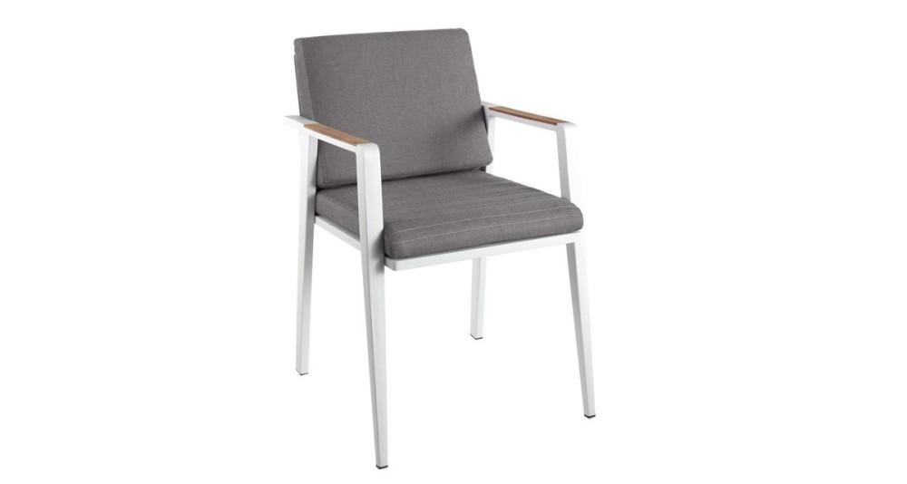 Lot 2 chaises avec coussins Oléfine Cap Ferrat