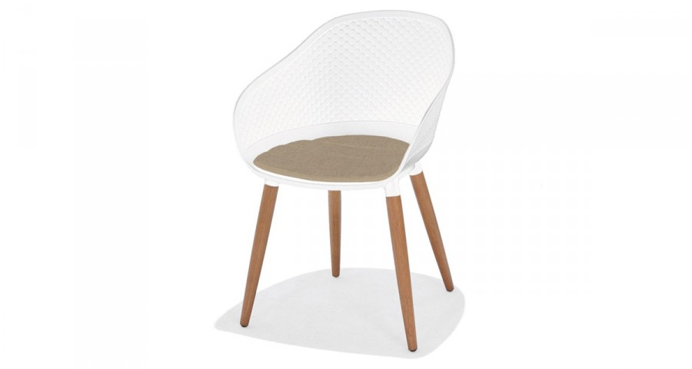 Lot 4 chaises style danois Frederik