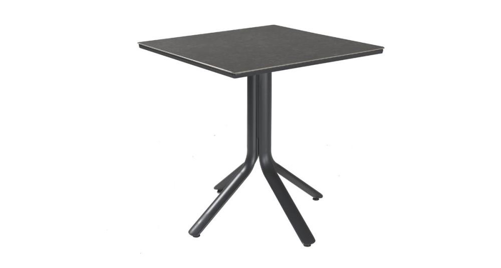 Table carrée pliante en céramique Macchiato