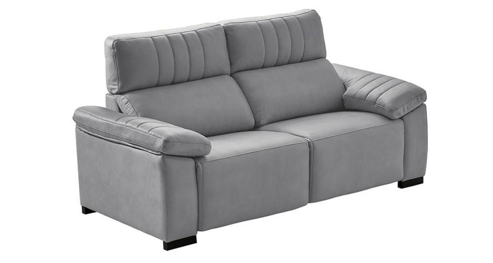 Canapé chic fixe ou à assises relax motorisées Romane