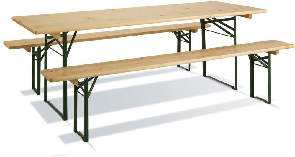 Table pique nique bois/métal 8 places Brasseurs