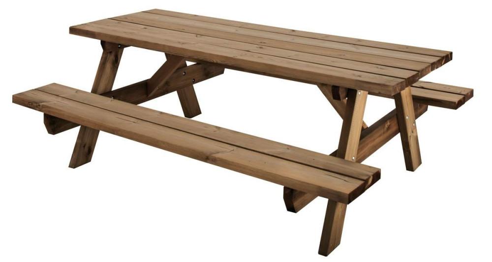 Table pique nique 6/8 places garantie 10 ans Garden