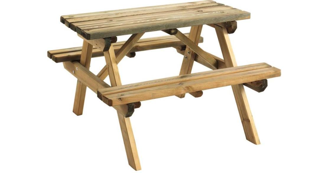 Table pique nique pour enfants Wapiti